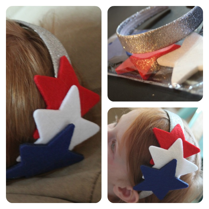 star headband Collage