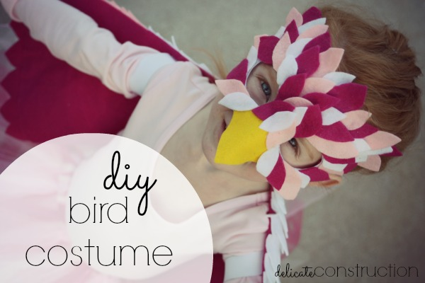 diy bird costume