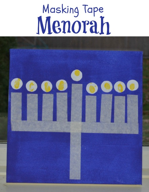 menorah-craft