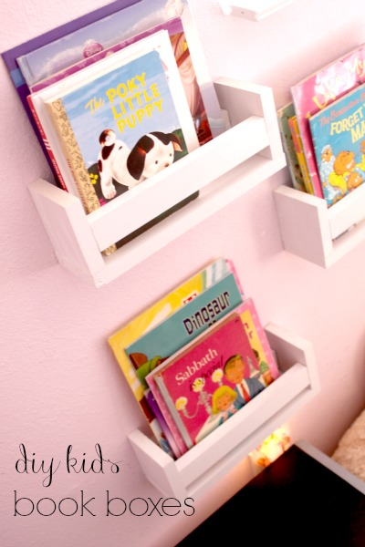 diy book Boxes