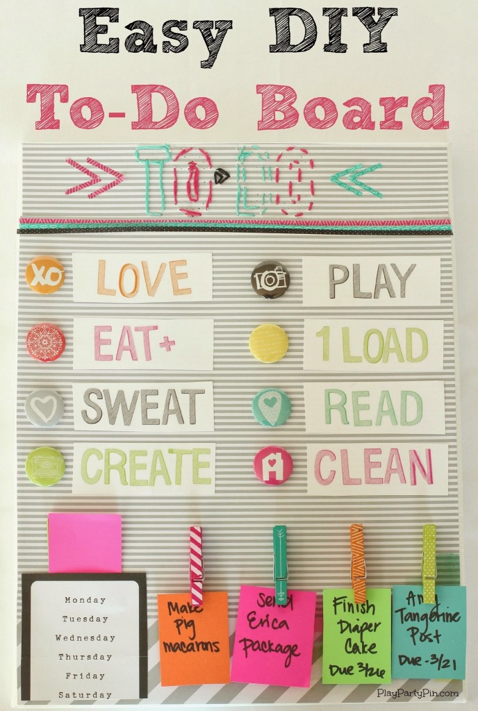 DIY_To_Do_Board_Pinterest