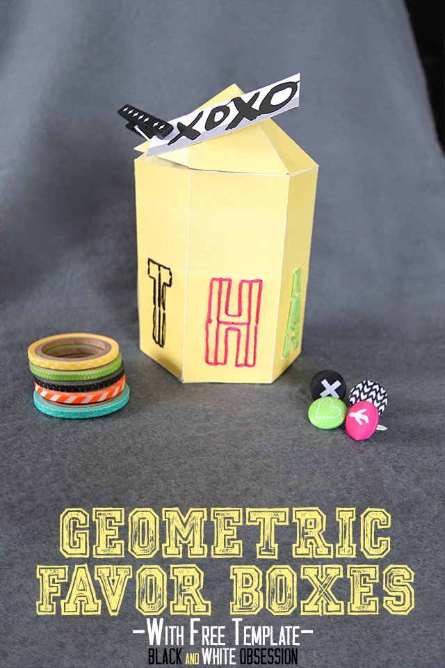 Paper-Crafts-Geometric-Thanks-Favor-Box