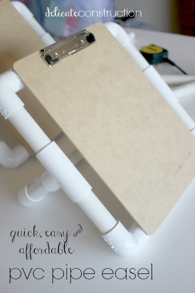 pvc pipe easel final