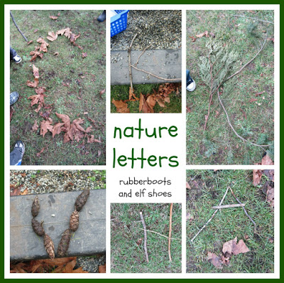 nature letters Collage