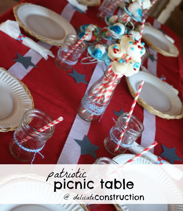 patriotic-picnic-table