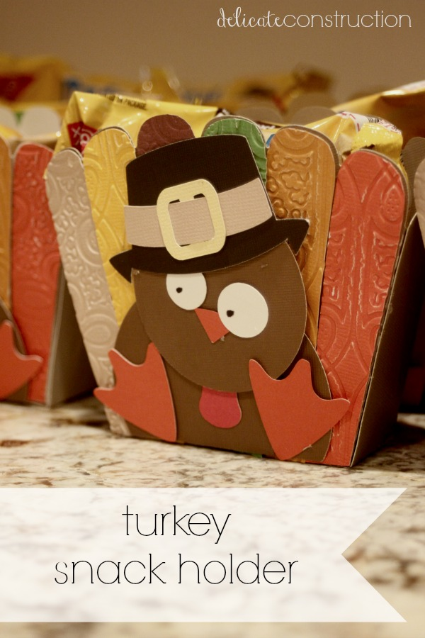 turkey snack holder
