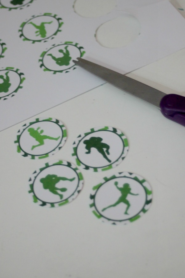 football cupcake toppers 3
