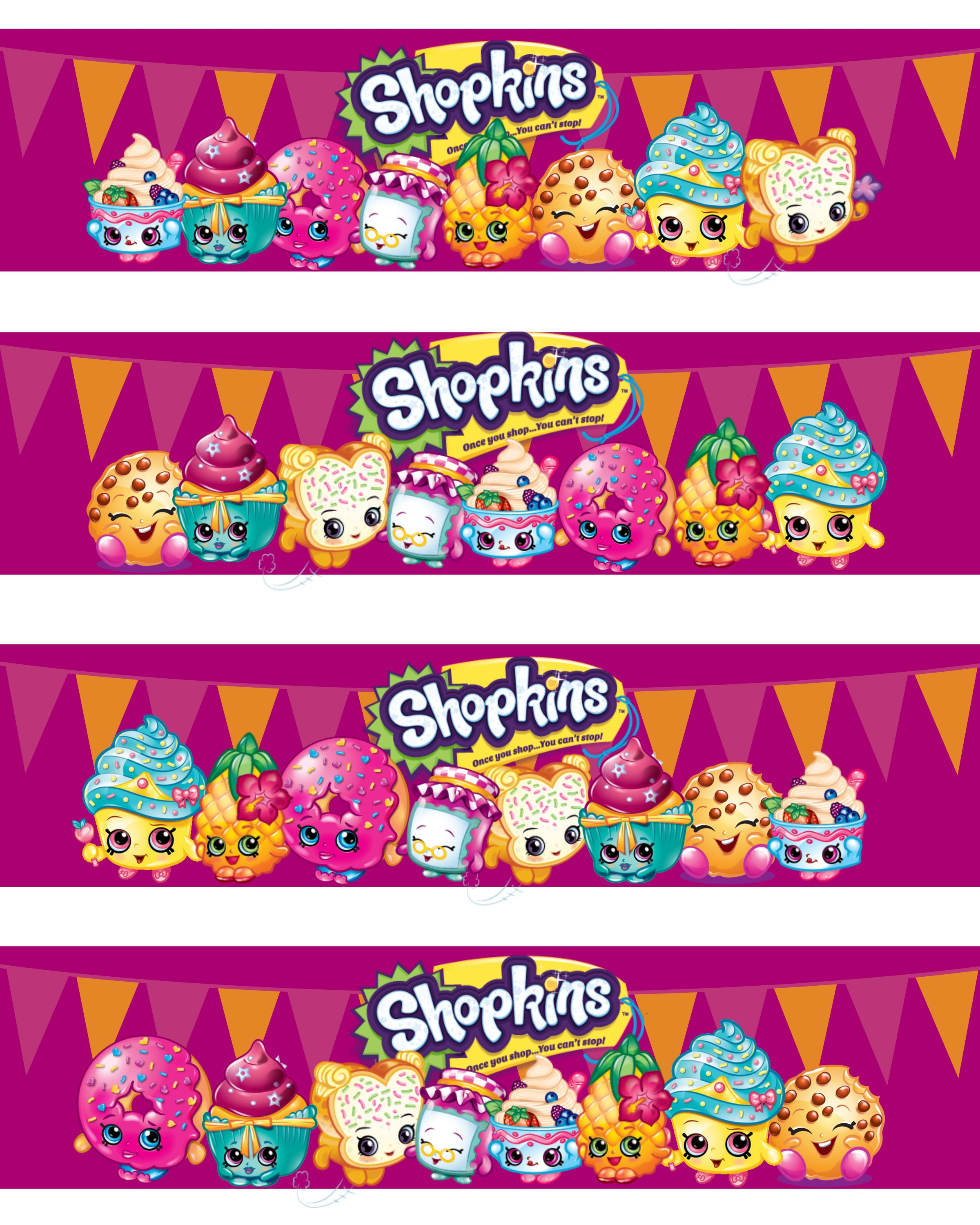 This is a graphic of Free Printable Shopkins Food Labels throughout shopkins party