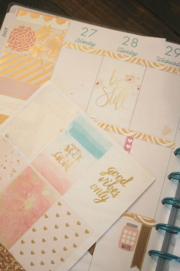 all that glitters planner stickers 3