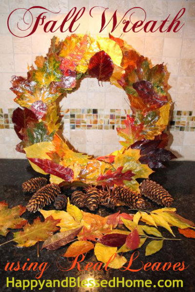 fall-wreath-from-real-leaves