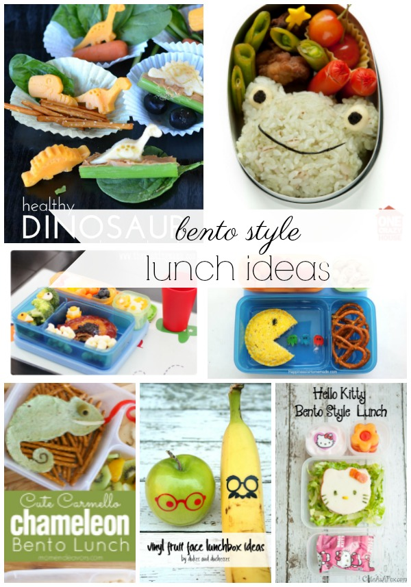 bento style lunch ideas
